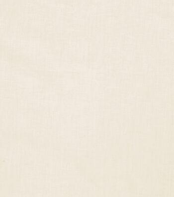 "Roc-Lon Premium Cotton Lining Fabric 54""-Ivory"