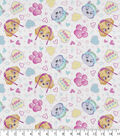 Nickelodeon® Paw Patrol Flannel Fabric 43\u0022-Pawfect Friends