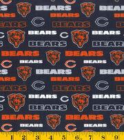 "Chicago Bears Cotton Fabric 58""-Glitter, , hi-res"