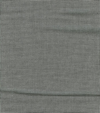 "Fashion Poly Spandex Suiting Fabric 57""-Black and White"