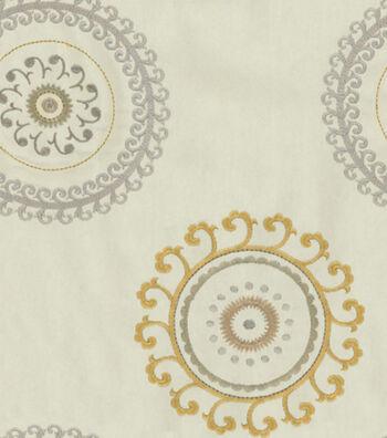 """Waverly Upholstery Fabric 57""""-Ottoman Ornament Pumice"""