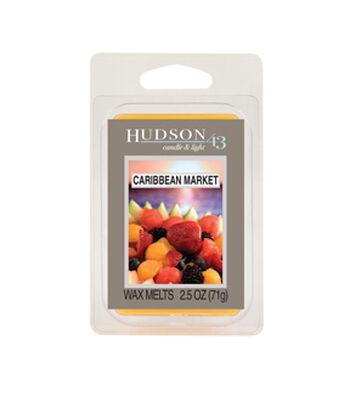 Hudson 43™ Candle & Light Collection Wax Melt-Caribbean Market