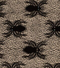 The Witching Hour Halloween Mesh Fabric 53\u0022-Spider