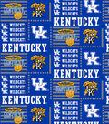 University of Kentucky Wildcats Cotton Fabric 44\u0022-Patch Logos