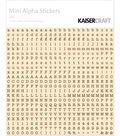 Kaisercraft Mini Alpha Stickers