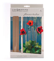 Lia Griffith Paper Flower Garden-Flower Tubes, , hi-res