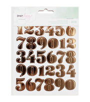 American Crafts Dear Lizzy Numbers, Hearts & Circles Sticker Book, , hi-res