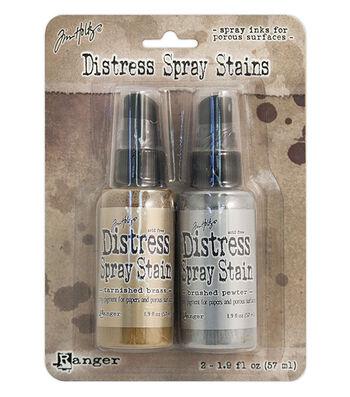 Ranger® Tim Holtz® 2 pk 1.9 fl. oz Distress Spray Stain Kit 2