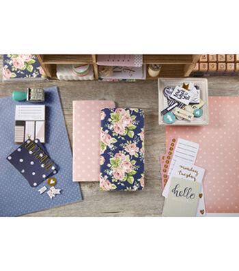 Webster's Pages Color Crush Notepad Set V-Floral & Pink Star
