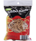 Rubber Bands .25lb-Tan Assorted Sizes