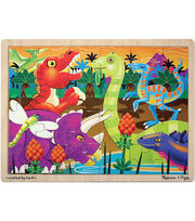 Melissa & Doug Prehistoric Sunset (Dinosaurs) Jigsaw (24 pc), , hi-res