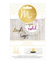 Heidi Swapp Minc Die-Cut Words 5/Pkg, , hi-res