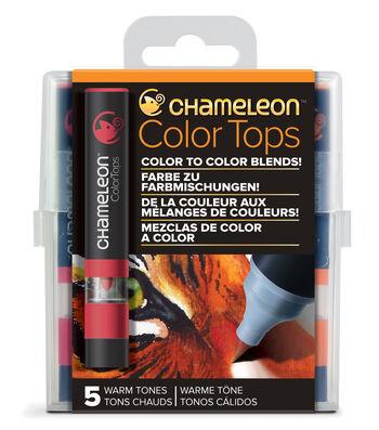 Chameleon 5 pk Color Tops Set-Warm Tones