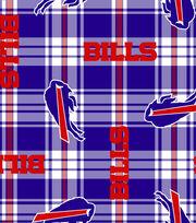 "Buffalo Bills Fleece Fabric 58""-Plaid, , hi-res"