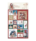 Docrafts Christmas With Wellington A5 Postage Stamp Die-Cuts