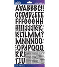 Sticko - Black Marker Medium Alphabet Stickers