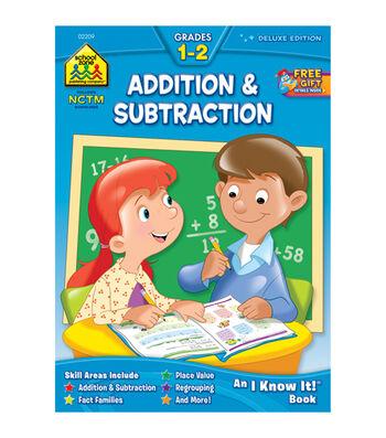 Workbooks-Addition/Subtraction 1&2