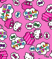 """Hello Kitty® Fleece Fabric 59""""-Clouds And Bows, , hi-res"""