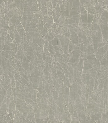 "Signature Series Sheer Fabric Crushed Voile 53""-Bone"