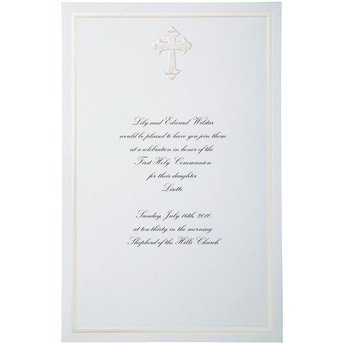 Wilton® 12ct Faith Invitation Kit