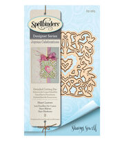 Spellbinders® 2 Pack Shapeabilities Etched Dies-Heart Leaves, , hi-res