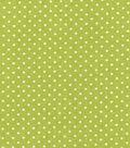 Keepsake Calico Cotton Fabric 43\u0022-Green Dot??