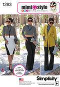 Simplicity Pattern 1283H5 6-8-10-12--Misses Sportswear