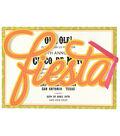 Anna Griffin Fiesta Diecut Word Custom Invitation