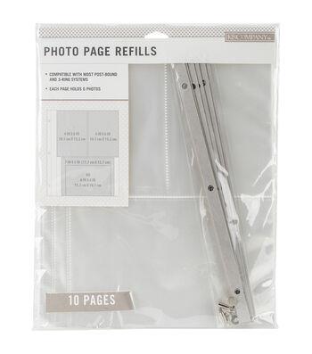 K&Company 8.5''x11'' Photo Page Refills