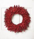 Blooming Holiday 24\u0027\u0027 Berry on Grapevine Wreath