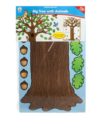 Carson Dellosa Tree / Animals Bulletin Board Set