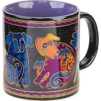 Laurel Burch Doggies Mug