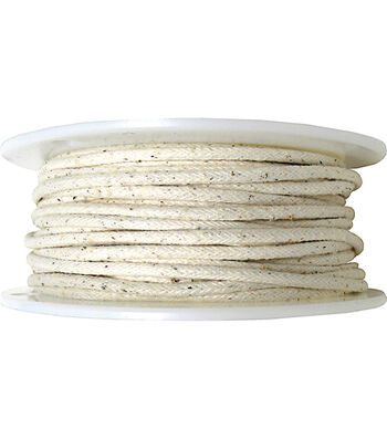 """Dritz Cotton Piping Size 3 3/8""""X100yd-Natural"""