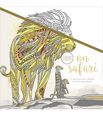 Kaisercraft KaiserColour Perfect Bound Coloring Book-On Safari