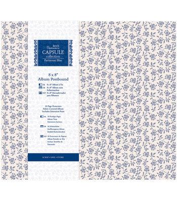 Papermania Capsule Postbound Album 8''x8''