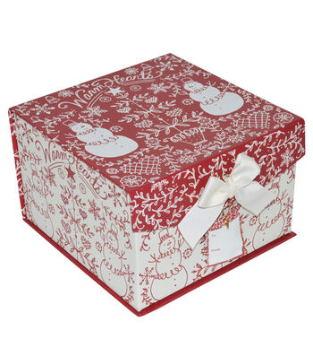 Maker's Holiday Large Mini Fliptop Box-Stencil