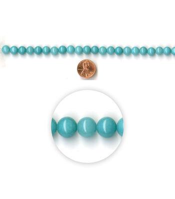 Blue Moon Strung Amazonite Stone Beads,Round,Turq