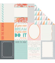 Kaisercraft Dream Big Fantasize Double-Sided Cardstock, , hi-res