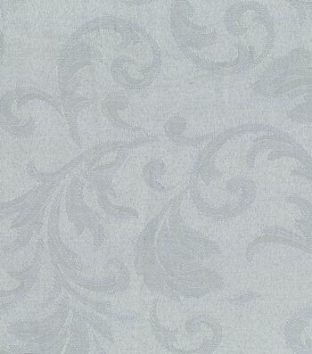 "Signature Series Solid Jacquard Fabric 54""-Silver"