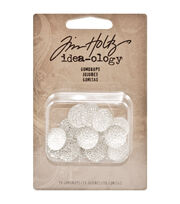 Tim Holtz Idea-Ology Gumdrops 15/Pkg-Clear, , hi-res