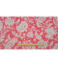Anti-Pill Fleece Fabric 57\u0022-Isabel Floral
