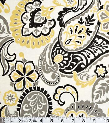 "Home Essentials Print Fabric 45""-Filigree Butter"