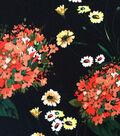 Knit Rayon Spandex Fabric 57\u0022-Floral Blossoms