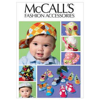 McCall's Infants Headgear-M6575