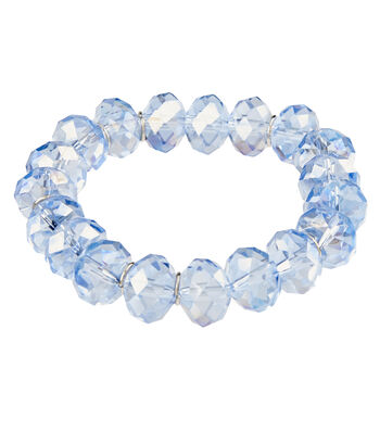 Graduated Multi Bracelet Blue