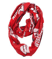 University of Wisconsin Badgers Infinity Scarf, , hi-res