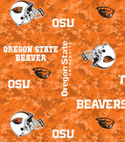 "Oregon State University Beavers Fleece Fabric 43""-Digital, , hi-res"