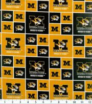 "University of Missouri Tigers Cotton Fabric 43""-Block, , hi-res"