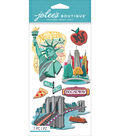 Jolee\u0027s Boutique Dimensional Stickers-New York