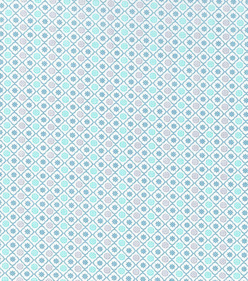 Keepsake Calico™ Cotton Fabric 43''-Spa Small Medallion